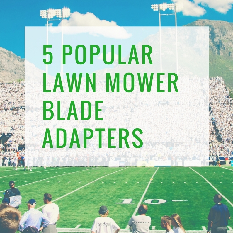 Lawn Mower Blade Adapter