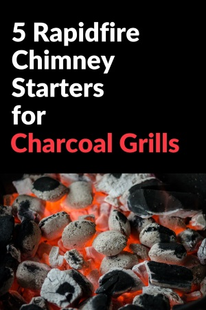 Chimney Starter for Charcoal Grill