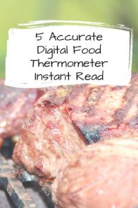 Digital Food Thermometer Instant Read
