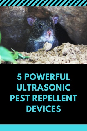 Ultrasonic Pest Repellent Device
