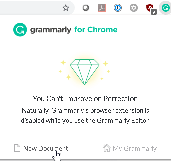 Grammarly My Grammarly Web Document