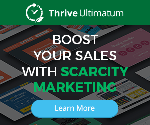 Thrive Ultimatum - Boost Tour Sales with Scarcity Marketing
