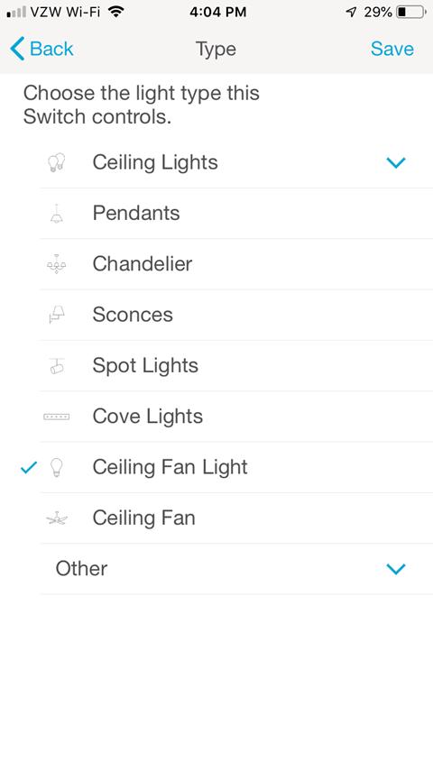 Light Type Screen